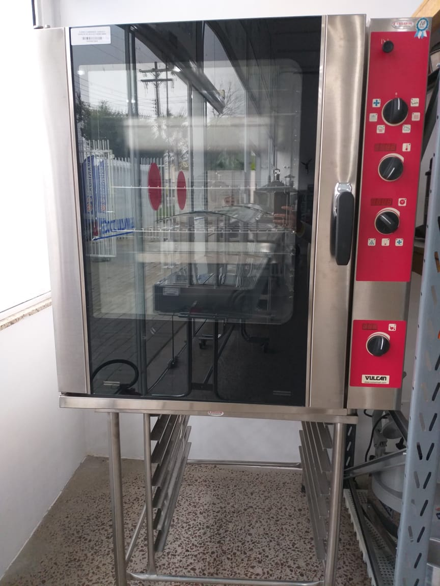 Forno Combinado Elétrico Vulcan FEMD 108SP