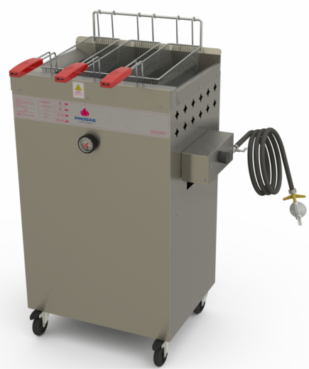 Fritadeira Água e Óleo PR-200 BPG Progás
