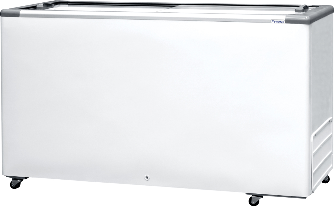 Freezer horizontal tampa de vidro 503 litros HCEB-503 220V Fricon