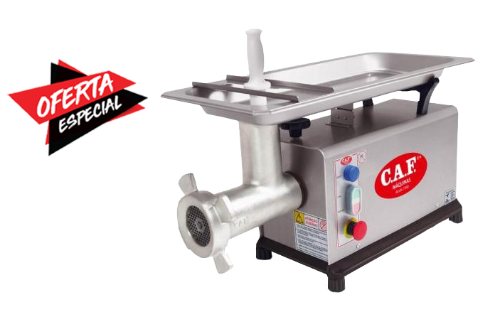 Picador e moedor de carne CAF Boca 10 Parcial Inox