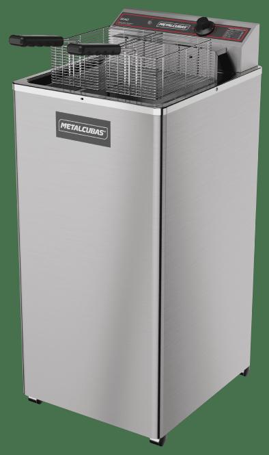 Fritadeira elétrica água e óleo 18 litros GFAO 18 P Metalcubas