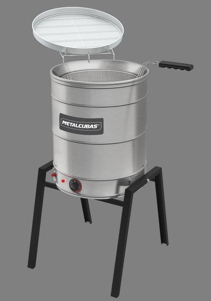 Fritadeira elétrica água e óleo 38l TFAO 40 CG Metalcubas