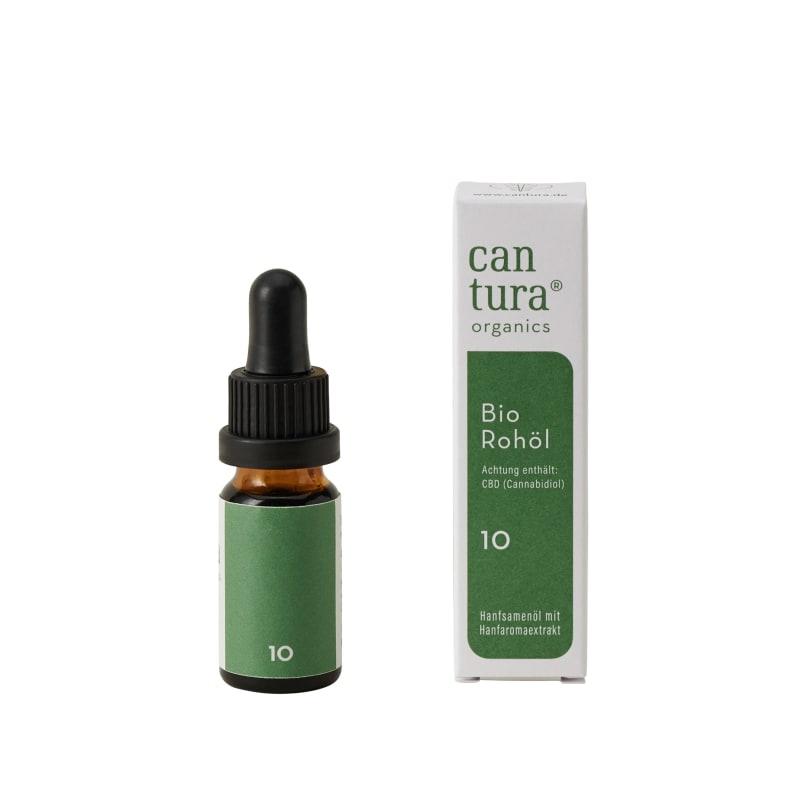 Cantura Bio CBD Öl Raw 10% | 10ml