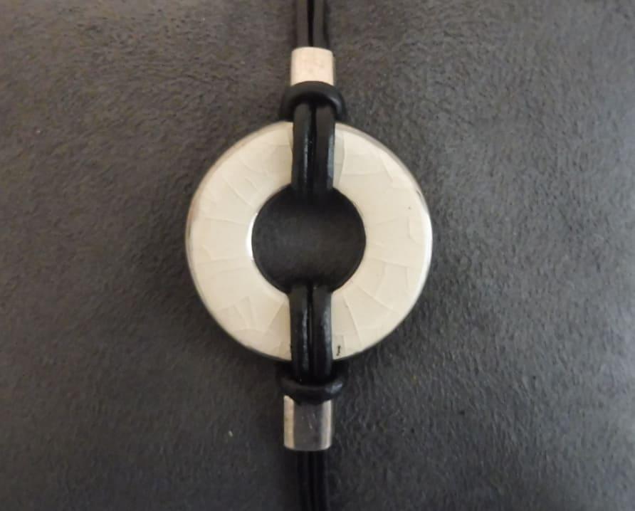 Bracelet ivoire uni