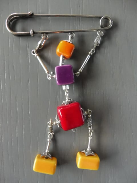 Broche Mobile Multicouleur