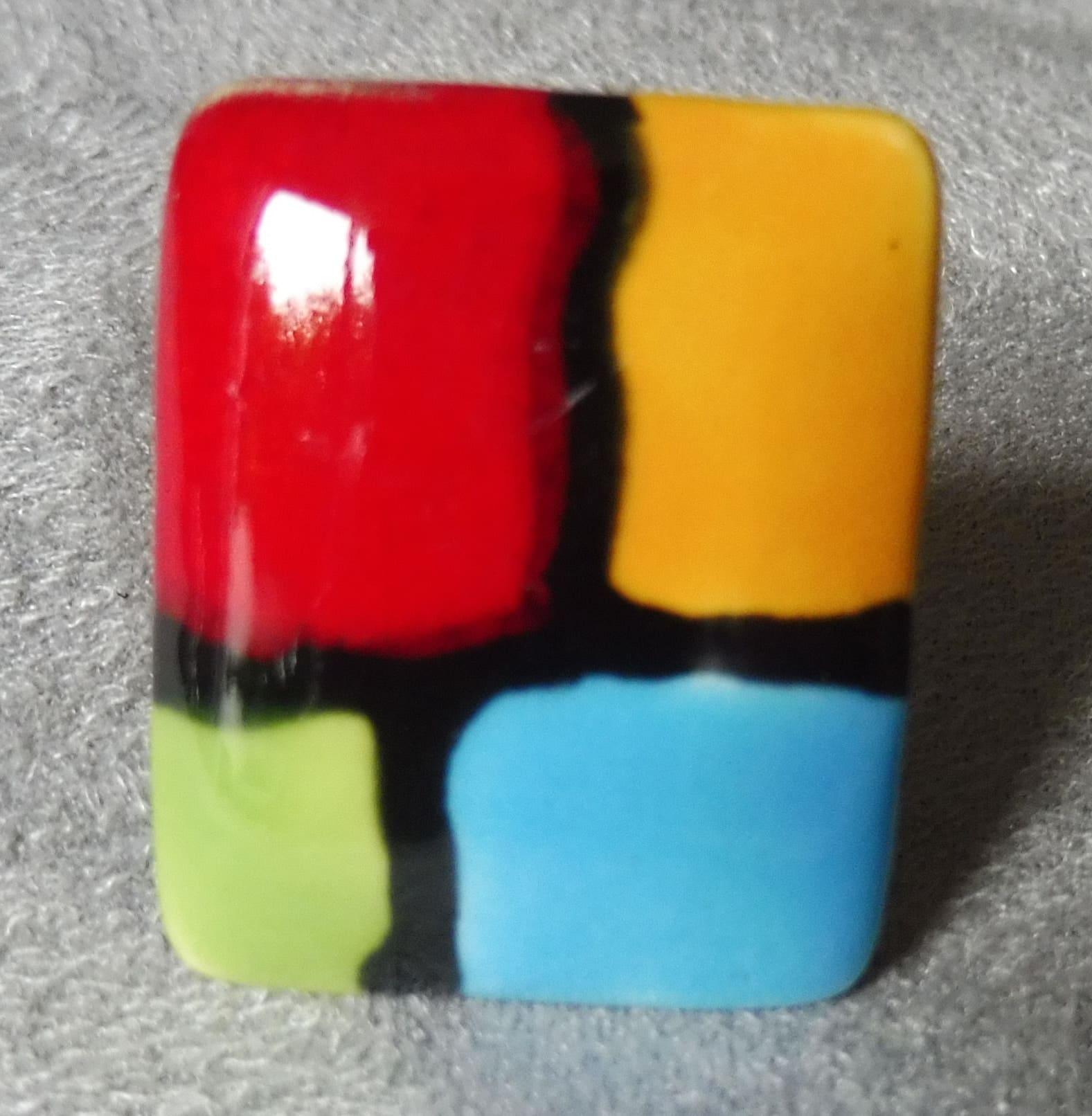 Bague 4 couleurs