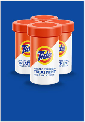 Tide Treatments for athletic wear can assist with all yoru sport related odors.