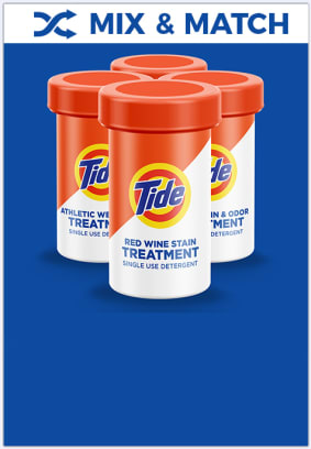 Tide Treatmentscan help with laundry smells, so get a combo pack today.