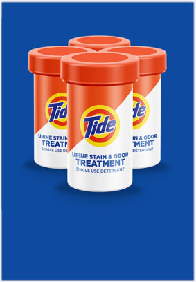 Tide Treatments for Urine is the go-to solution for odor smells and stains.
