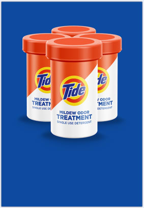 Tide Treatments for sutbborn mildew odors can help with your laundry problems.