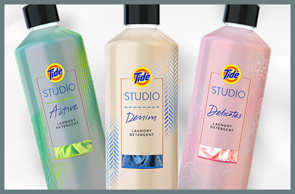 Three bottle of Tide Studio