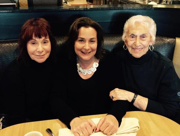 Erin Matz, her mother and her grandmother