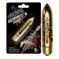 Mini-Vibrator Deadly Passion 80 mm mit...