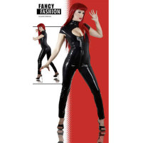 Fancy Fashion enges Latex-Catsuit