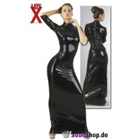 Tailliertes Latex-Kleid Hotty