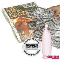 50er rosa Kondom-Sparpack Secura Mega-P...