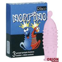 Genoppt - geripptes Kondom Rilaco Nopri...
