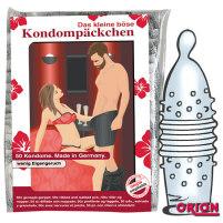 Vorratspackung genoppte Kondome Das kle...