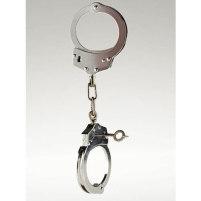 Sexy Polizeihandschellen aus Metall  -