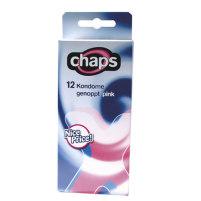 Genoppte Kondome von Chaps Pink - 12 S...