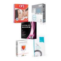 15 Kondome mit dünner Außenwa...
