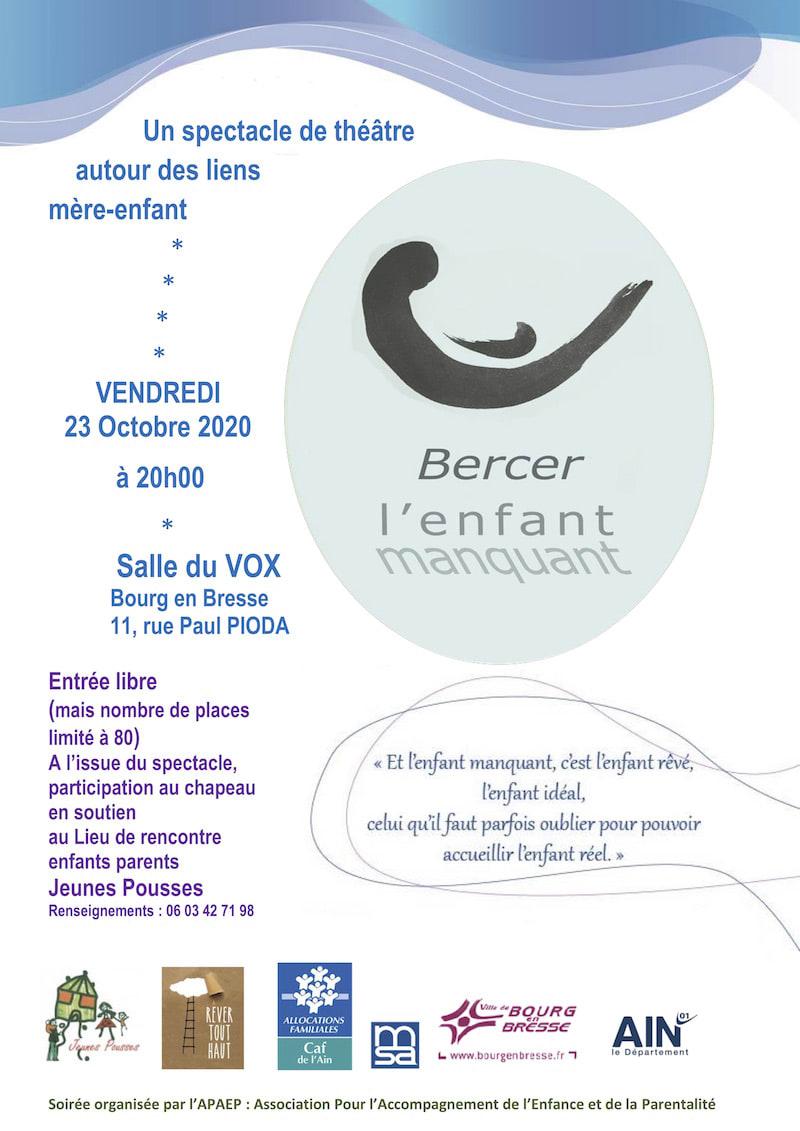 flyer Bourg en Bresse le 23 octobre 2020