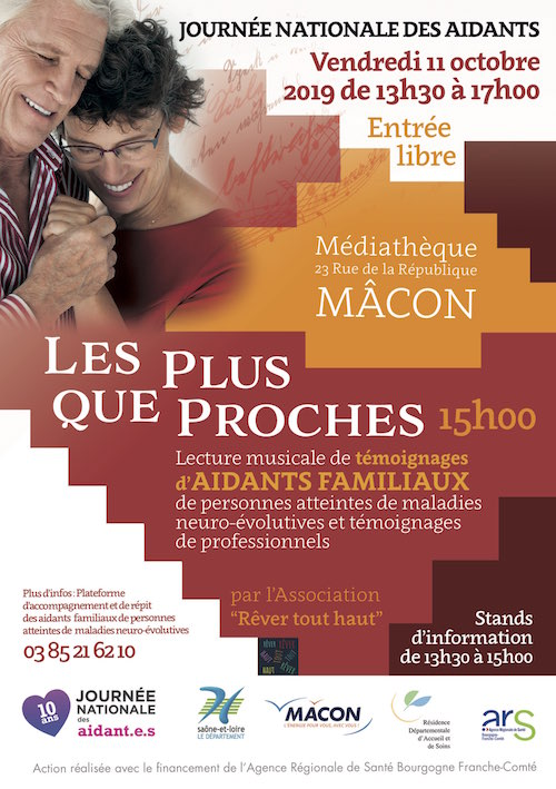 flyer journée nationale des aidants, 11 octobre 2019, de 13h30 à 17h
