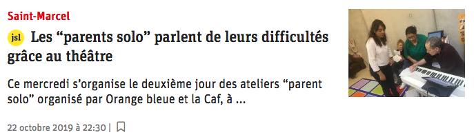 Coupure de presse JSL.