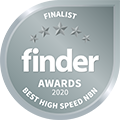 Finder Awards 2020 - Best High Speed NBN 120