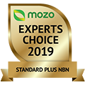 Mozo Experts Choice 2019 Winner - Standard Plus NBN 120