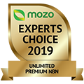 Mozo Experts Choice 2019 Winner - Premium NBN 120