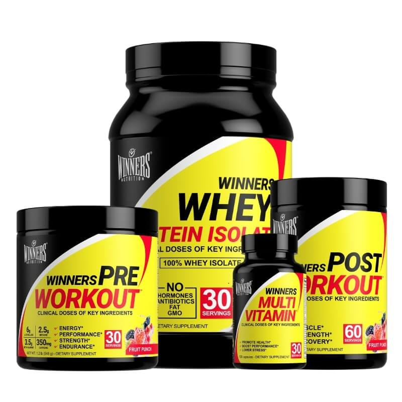 Winners Nutrition Build Muscle Stack