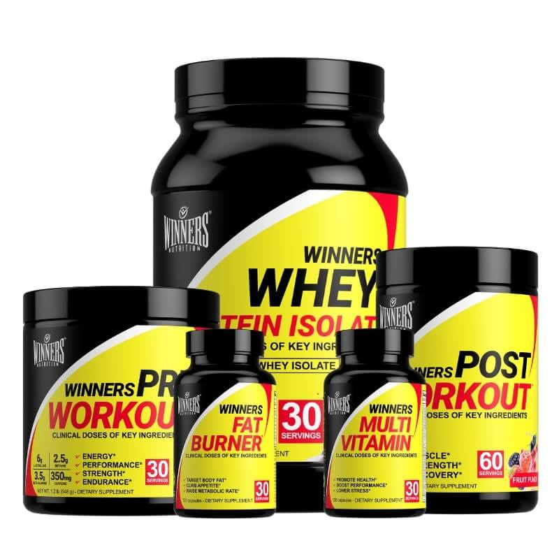 Winners Nutrition Lean Muscle and Strength Stack