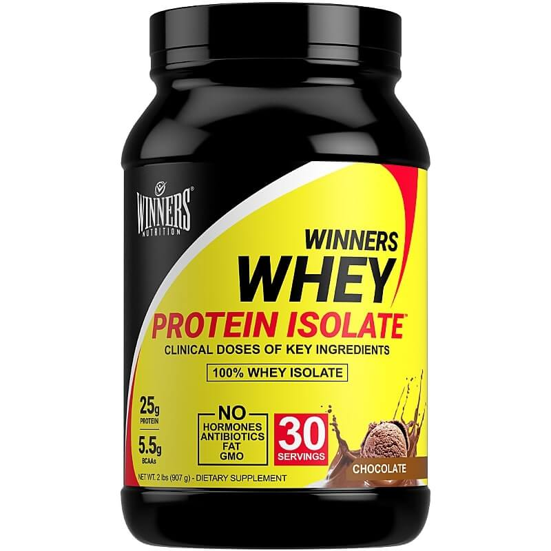 Winners Nutrition Whey Protein Isolate Powder