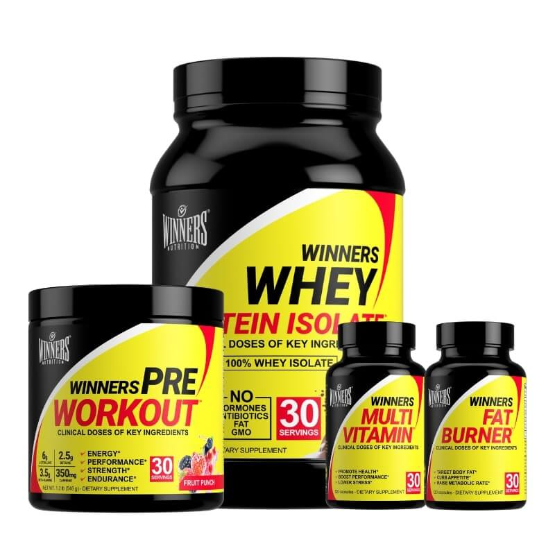 Winners Nutrition Lean Muscle & Slim Stack
