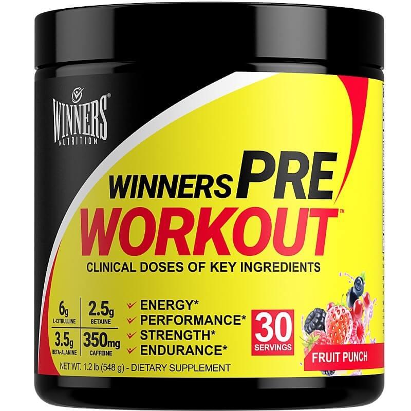 Winners Nutrition Pre Workout Powder