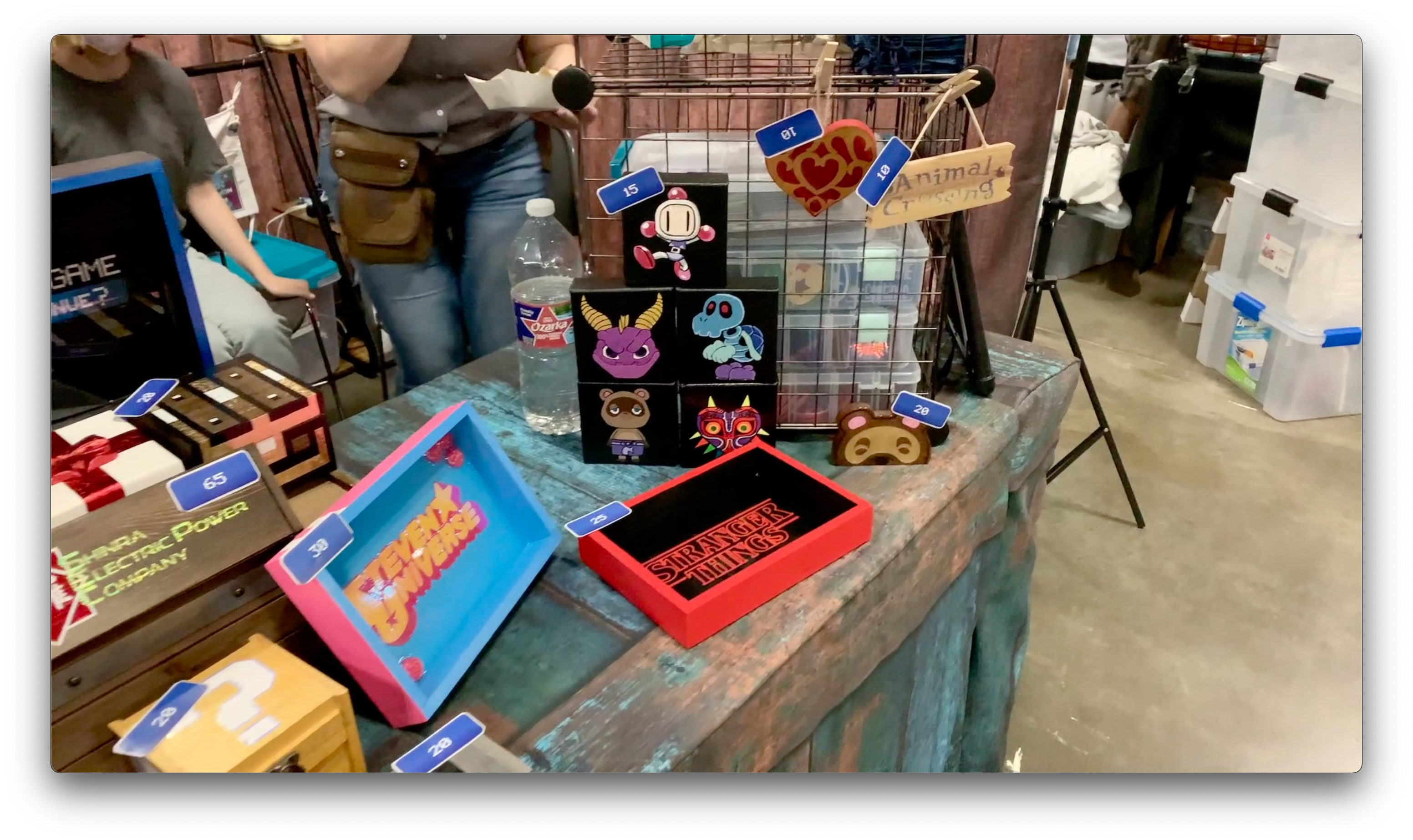 Classic Game Fest Sector 7 Gift Shop