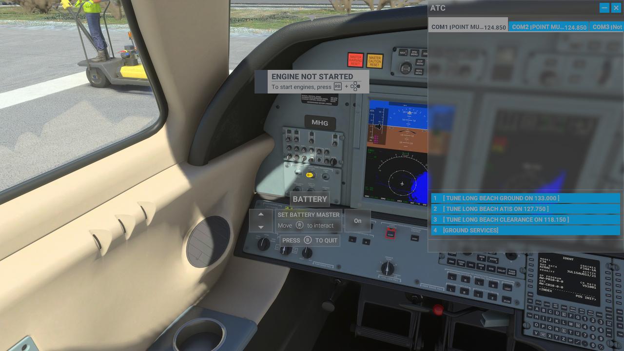 Cockpit Interface
