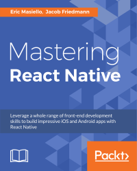 Mastering React Native - front cover