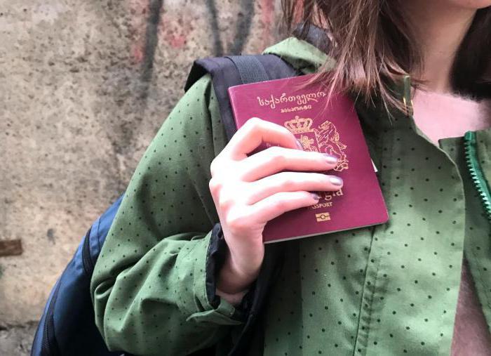 Как сделать гражданство рф грузину