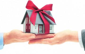 Налог на дарственную квартиру сколько в год