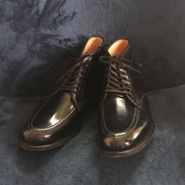 Sanders Military Apron Derby Boots