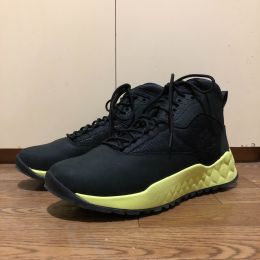 Timberland Solar Wave Leather/Fabric Mid Hiker Boots