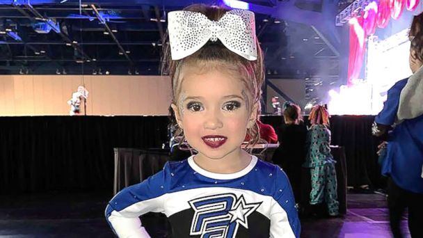 This 4-year-old cheerleading prodigy is wowing millions with impressive moves