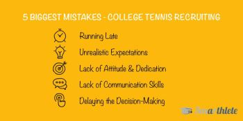5 Biggest Mistakes in the College Recruiting Process