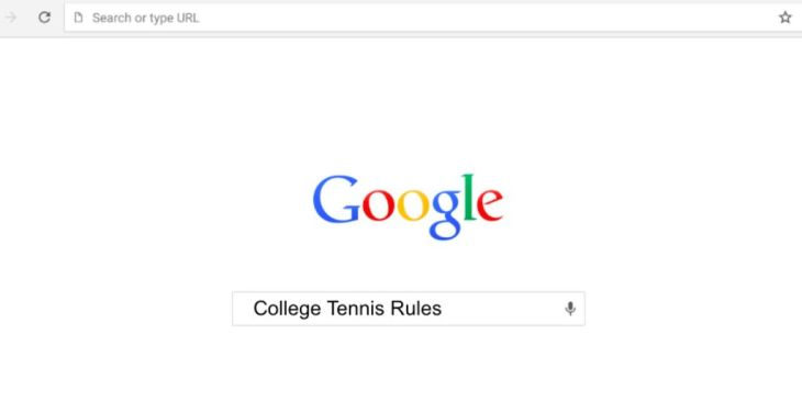 College Tennis Rules - Dual Match Formats