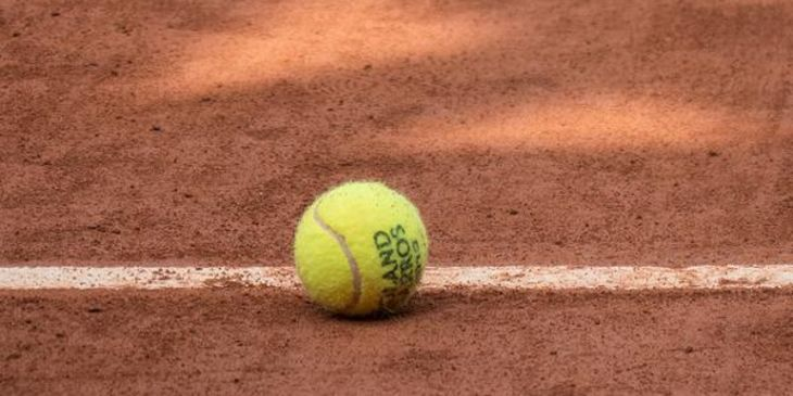 How many professionals from college tennis play in the French Open 2015?