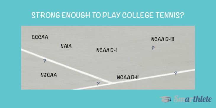 Strong Enough to Play College Tennis?