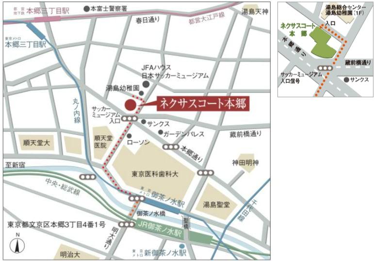 本郷マップ