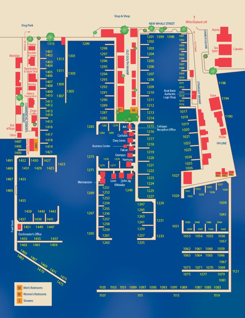 Nantucket Boat Basin Slip Dock Mooring Reservations Dockwa